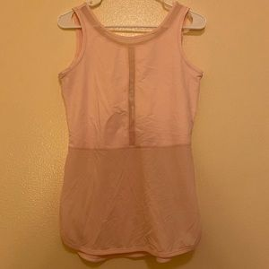 Lululemon light pink tank top